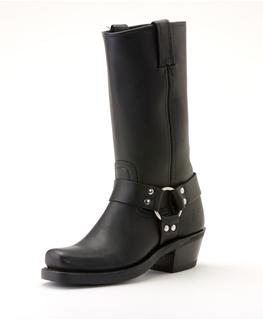 Frye Boot 77300-1 Black Harness Boot $328