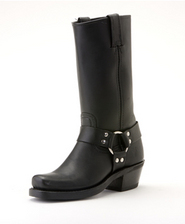 77300-1 Frye Black Harness Boot
