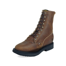 764 Justin 8 Steel Toe Lacer