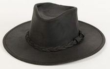 9509 Minnetonka Black Outback Hat