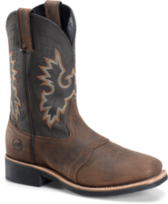 DH 4258 Double-H Square Toe Roper
